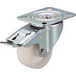 Casters - Medium Load - Wheel Material: Polypropylene - Swivel with Stopper