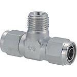 Couplings for Tubes - Nut and Sleeve Integrated Type - Tees