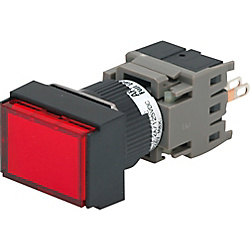Illuminated Pushbutton Switch Mounting Hole φ16 PL1BSFM114-W-CN