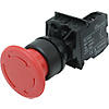 Emergency Stop Switch Mounting Hole φ16, φ22 (Value Product)