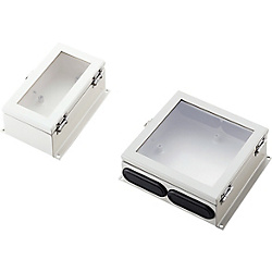 Sensor Amplifier Box (with Door, Transparent Lid) BXT-SA200-G