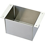 Uncoated Panel Box- 2 Handles, Highly Corrosion-Resistant, Hot-Dip Steel Plating, Stainless Steel (MISUMI)