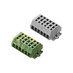 BTDK Series European Style Terminal Blocks (Panel Mounted/Wire Clamping Cartridge/Combination Model)