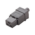 C19 IEC Standard Straight Socket for AC Power Cords (MISUMI)