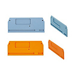 Partition Plates/Covers for BTFE Series European Style Terminal Blocks (MISUMI)