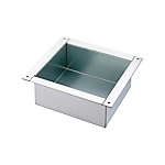 Uncoated Panel Box - 4 Handles, Stainless Steel, RUBTQ Series (MISUMI)