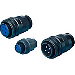 MS3106-Series, Waterproof, Straight Plug