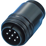 CE05/JL04V European Standard/Waterproof Straight Plug (Screw)