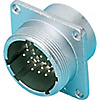 NJC JIS Standards Panel Mountable Receptacle (Screw Model)
