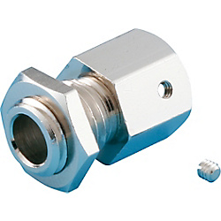 Flexible Model Tube Connector for KSN (Head for Panel Mounting)