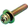 Small Pan Screw Set (Chromate Finish)