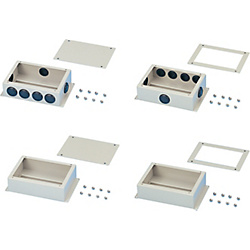 Steel Terminal Block Box, with Lid Model DIN Rail BOXDT-N150