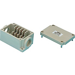 Plastic Terminal Block Box, without Cable Clamp Model