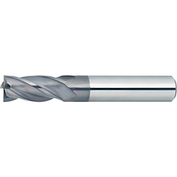XAL series carbide square end mill, 4-flute / 2D Flute Length (short) model XAL-EM4S16