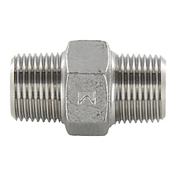 Stainless Steel Hexagon Nipple Threaded Fitting PHM-25A