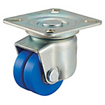 Low Floor Dual Wheel Caster for Heavy Loads HJT, HJT-AD, AD