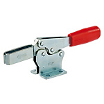 Horizontal Handle Clamps Horizontal Series L Model with Mounting Surface and Safety Lever