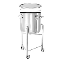 Mirrored Airtight Container With PTFE Packing And Legs [DT-CTH-L-PTFE]