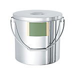 Stainless Steel Suspended General-Purpose Container With Label Zone [STB-LZ]