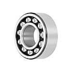 Angular contact ball bearings 33..-BD, main dimensions to DIN628-3, double row, contact angle α = 30°