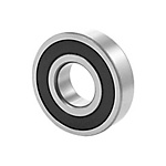 Deep groove ball bearings 618..-2RZ, main dimensions to DIN625-1, non-contact radial seals on both sides