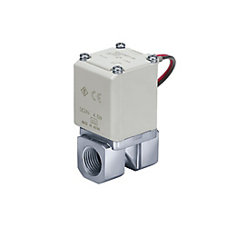 Direct Operated 2 Port Solenoid Valve VX21/22/23 Series VX2A0AS