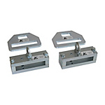 SET fork clamps incl. Strap for securing goods