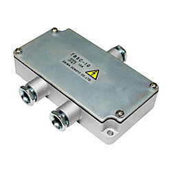 Small Thin Type Aluminum Box For Relaying