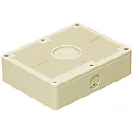 Impact And Weather Resistant Resin Square Switch Box (Free-Mounting Cover) For Exposed Use, IPX3