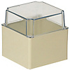 Impact And Weather Resistant & Waterproof Resin Pool Box (Transparent Deep Cover), IPX3