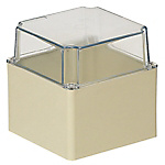 Impact And Weather Resistant & Waterproof Resin Pool Box (With Free-Mounting Sheet / Transparent Deep Cover), IPX3