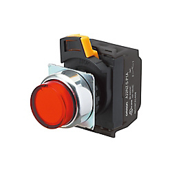 φ22 mm Pushbutton Switch (Illumination Type) A22NL Series A22NL-BGA-TGA-G100-GE