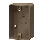 Exposed Switch Enclosure (For Waterproof Outlets / One-Side Ground Type)