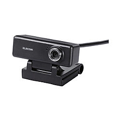 2‑Megapixel PC Camera With Built-In Microphone / High-Definition Glass Lens / With Earphone / Black