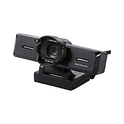 8‑Megapixel PC Camera With Built-In Stereo Microphone / High-Definition Glass Lens / With Lens Hood / Black