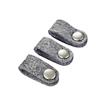 Button Clip Cable Holder / S Size / Gray