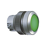 Pushbutton, flush lens, round collar RAFIX 22 QR