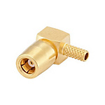 SMB connector Connector, right angle