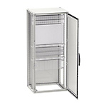 Spacial SF-cabinet with mounting plate, ready mounted