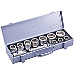 Socket Set for Impact Wrenches (Metal Tray Case Type) NV6102