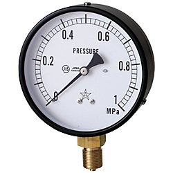 General Steam Pressure Gauge (A Type Vertical Type / φ75)