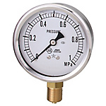 General Purpose Glycerin Pressure Gauge (A Frame Vertical Type / Diameter ø60)