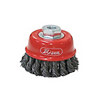 Bison Twist Wire Cup Brush