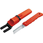 Electrician's Knife (Rubber Grip)