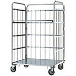Carrello porta merci universale in acciaio inox Mighty Carry, tipo MC