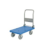 Y-series plastic hand truck with foldable handle