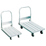 Aluminum Transport Cart, Unpan Kun, Folding Handle Type
