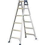 Stepladder Doubling as Ladder With Non-Slip Rubber MXJ