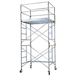 Mobile Steel Scaffold Rolling Tower