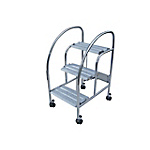 Folding Step Ladder MT Step D (with Casters)
